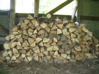Seasoned Oak Firewood- GREAT HEAT