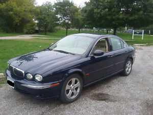 2002 Jaguar X-TYPE Sedan rare 5 speed manual
