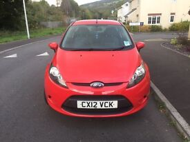 Ford Fiesta 1.25 style. 2012