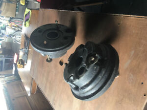 Lawnmower tire weights for MTD gold