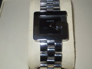 Authentic mens stainless GUCCI G watch