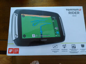 New Motorcycle TomTom Rider 400 GPS