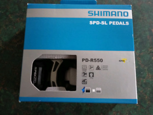 New shimano road pedals PD-R550