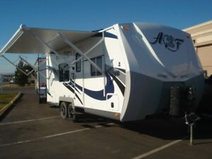 Place to park travel trailer while attending college