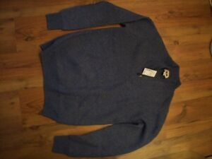 new wool nylon sweater with tags