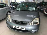 2004 Honda Civic 1.7 CTDi SE - 2 Keys - 10 Service Stamps - cheap road tax