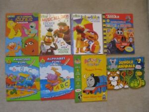 Assorted Activity Books For Toddlers (Brand New!)