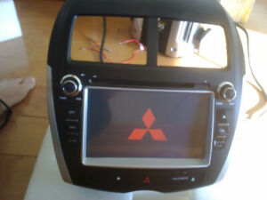 mitsubishi rvr oem fit gps bluetooth radio dvd audio system