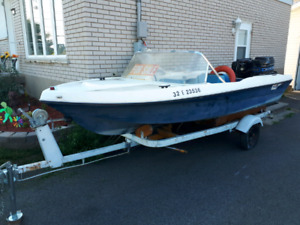 Sport boat 50hp  SALE or TRADE