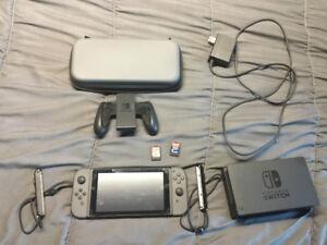 Nintendo switch + case