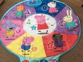 Peppa pig musical play mat