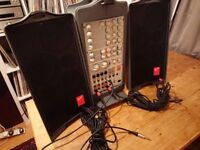 Portable PA system
