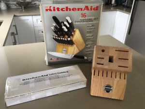Ensemble de Couteaux + Bloc ** Kitchenaid ** Knife Set + Block