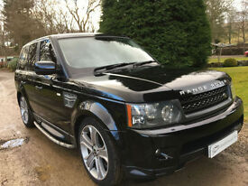 STUNNING RANGE ROVER SPORT 5.0 SUPERCHARGED V8 2010MY HSE 505HP