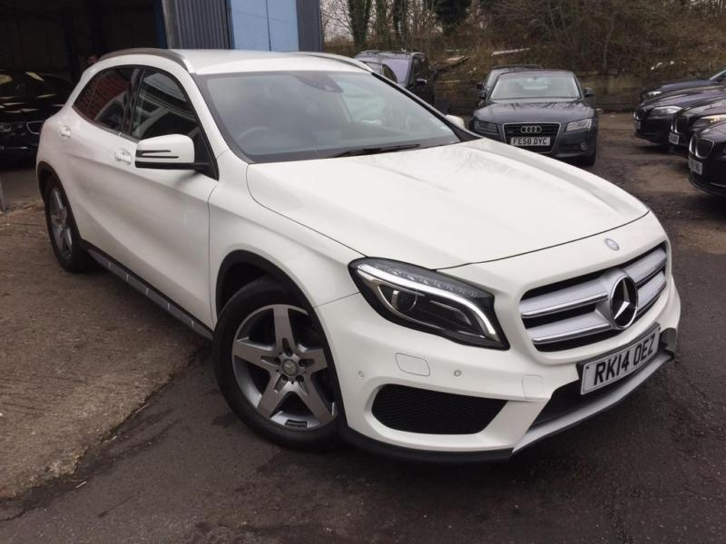 2014 mercedes benz gla class 2 1 gla200 cdi amg line premium pack 7g dct in slough. Black Bedroom Furniture Sets. Home Design Ideas