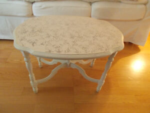 Lovely Small Floral Top Coffee Table-Delivery Included