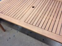 Madison Garden Table Wood Brand New ***BARGAIN***