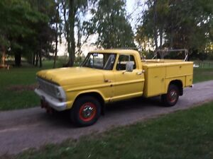 1967 FORD F250 Work Truck