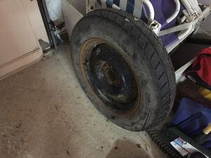 Spare tire.