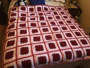 Beautiful Knit Afghan Blanket