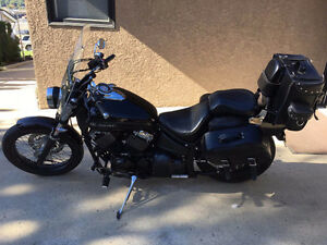 2009 Yamaha V-Star 650, Low KM
