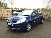 Renault Clio 1.2 16v Expression 3 door hatchback 2007 57 plate in blue