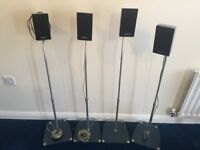 Samsung Surround Speaker set (with stands)