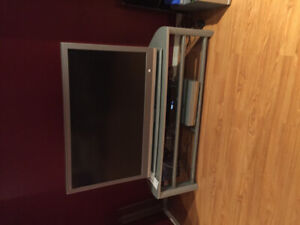 FREE- TV and stand, BBQ moving so come get them