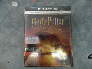 Harry potter 8 film  collection (4K and Bluray)