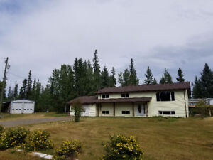 Gorgeous 5 acre property close to downtown Vanderhoof