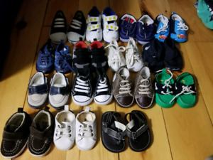 Infant shoes converse, old navy, baby gap, carters, Disney , etc