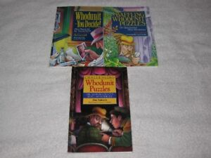 WHODUNIT MYSTERIES - CHILDRENS BOOKS - CHECK IT OUT!