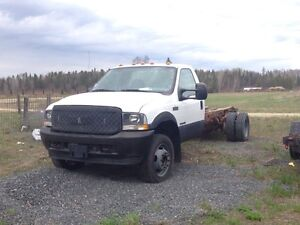 2002 ford F-550 cab and chassis