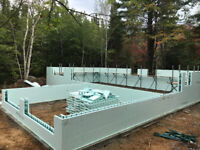 Excel Contracting..ICF foundations and Reno's