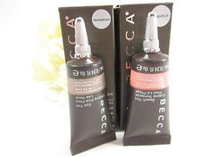BECCA Beach Tin + Eye Tin Water Resistant in Grapefruit & Romant