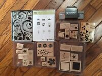 Stampin' Up Stamps and Punch