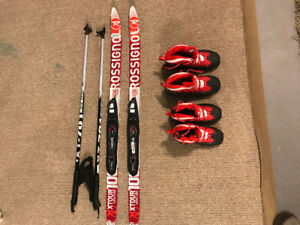 Kids Cross country Skis and Boots