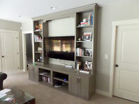 Custom Furniture and Built Ins