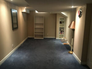 ONE ROOM EN-SUITE BASEMENT FOR RENT