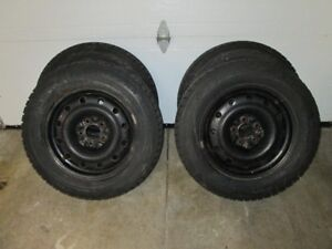 Blizzak Snow Tires on Rims