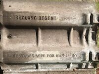 Redland Regent roof tiles slates approx. 170 suit for spare or porch shed outhouse garage lean to