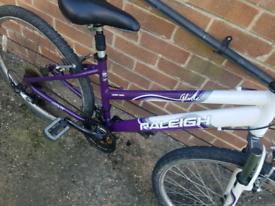 Raleigh glide mountain bike