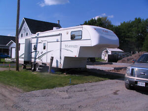 Fifth Wheel 37 ft overall length