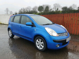 2007 NISSAN NOTE SE 1.6 *ONLY 60000 MILES*