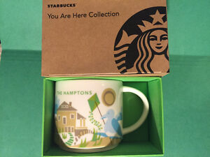 The Hamptons Starbucks Coffee You Are Here YAH Collection Mug