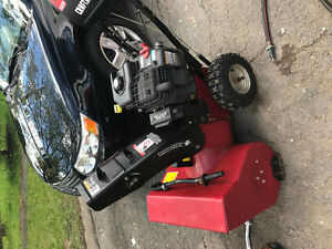 ***craftsman snowblower in perfect shape***