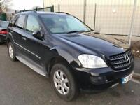 2006 Mercedes-Benz M Class 3.0 ML320 CDI SE 7G-Tronic 5dr Diesel black Automatic
