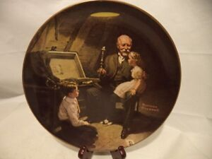 Collectible Plates by Norman Rockwell Knowles for Sale