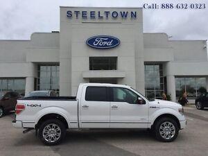 """2013 Ford F-150 """"PLATNM 4X4 CREW LTHR/MOON""""   - $289.51 B/W"""