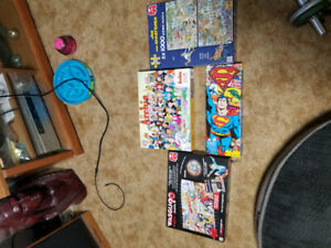 Puzzles 1000pc. Each $20 for all